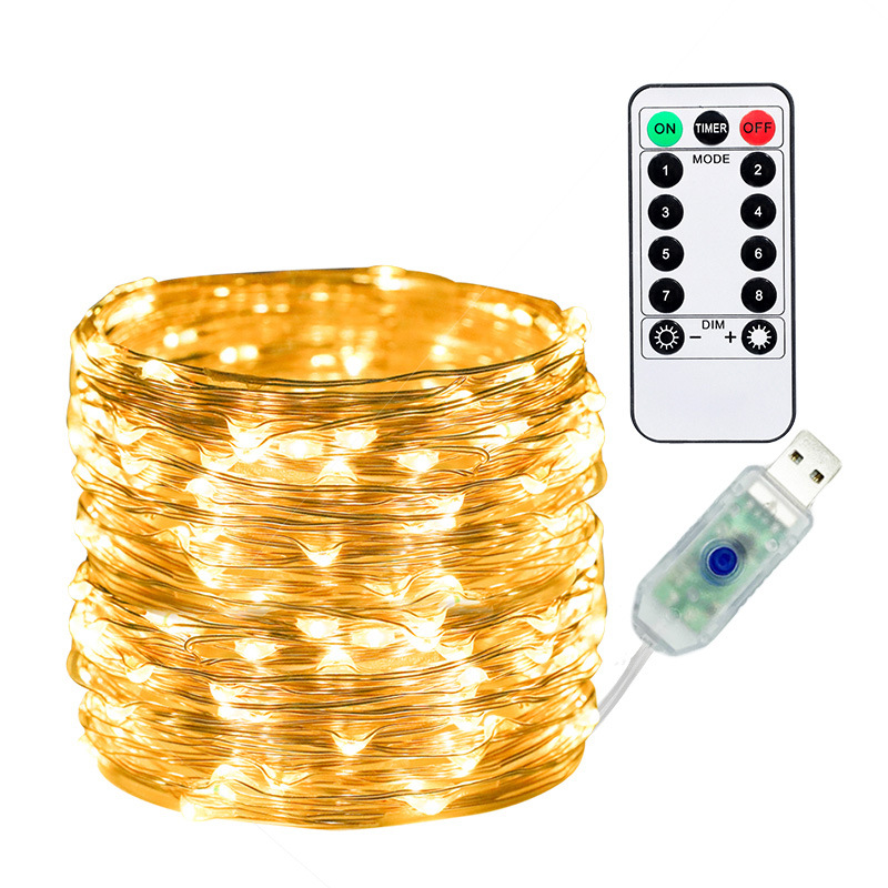 LED USB String Light With Remote
