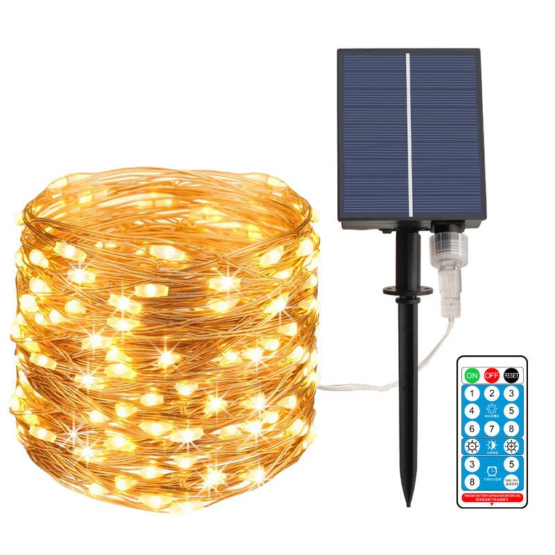Solar Copper Wire String Light