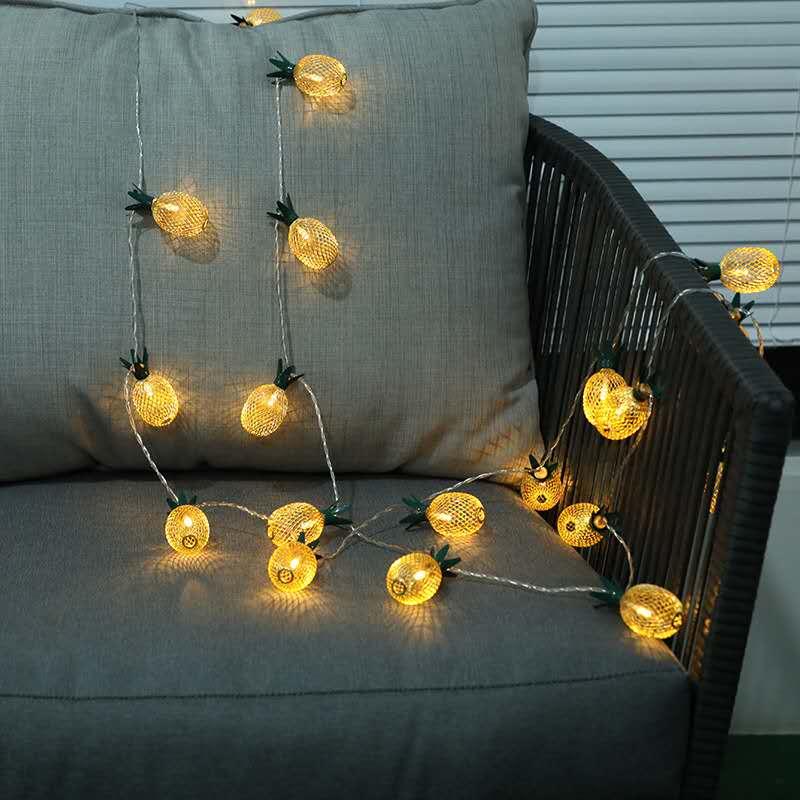 LED Pineapple string lights