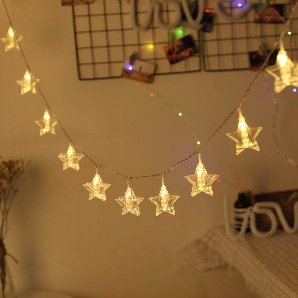 Five Star Photo Clip String Light