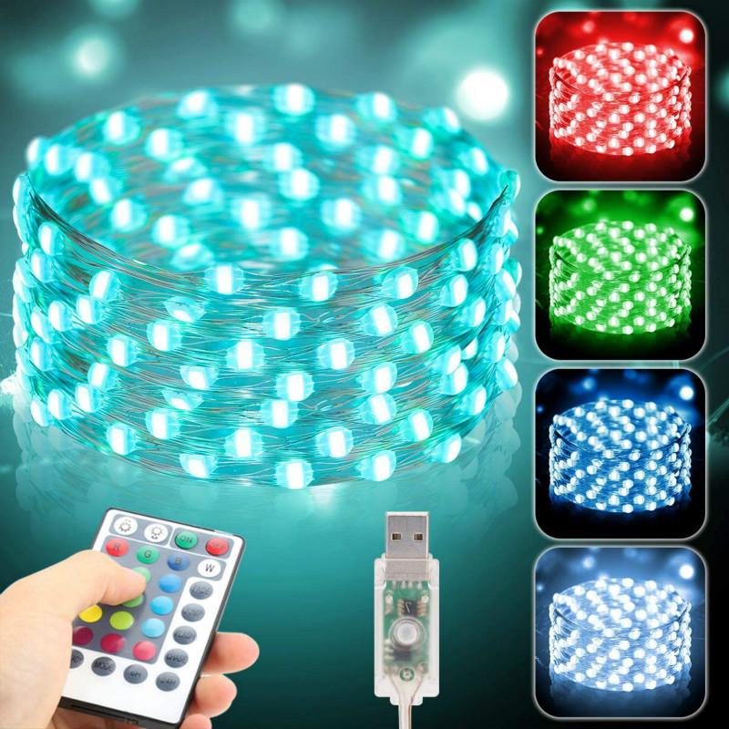 USB Synchronized light string